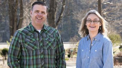 Dr. Andy Pulte and Dr. Natalie Bumgarner